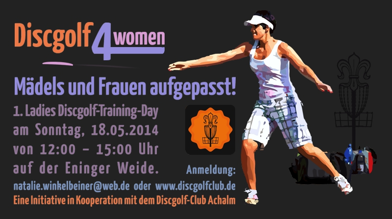 Discgolf 4 women